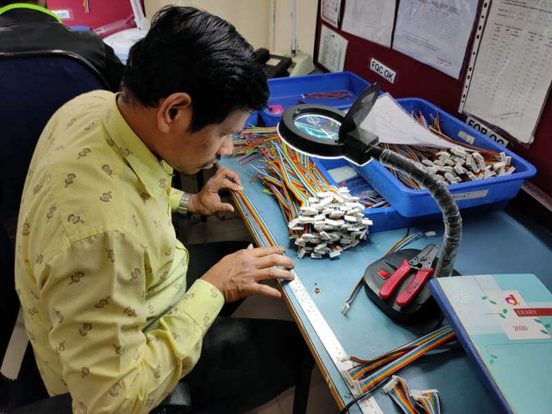 quality testing of wiring harness